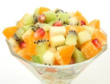 Free Salad From Fresh Fruit Stock Photography - 18951782