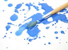 Free Brushes And Paints Stock Images - 18951934