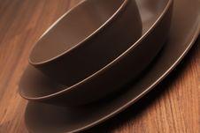 Free Round Plates Stock Image - 18952021