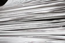 Free Newspapers Stock Photography - 18952022