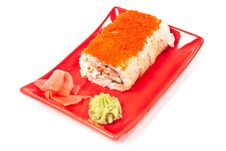 Free Rolls Served On Plate Royalty Free Stock Images - 18952039