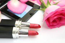 Free Decorative Cosmetics Royalty Free Stock Photo - 18952625