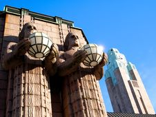 Free Helsinki Railwaystation Royalty Free Stock Photos - 18953748