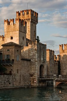 Free The Scaliger Castle, Sirmione, Italy Stock Photo - 18953880