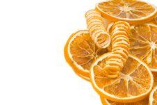 Free Orange Flavoring Background Isolated Stock Image - 18954921