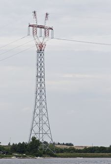 Free Power Transmission Pole Stock Photo - 18955240