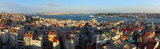 Free Istanbul Panorama Royalty Free Stock Image - 18955616