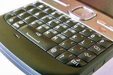 Free Mobile Phone Keyboard Close-up Stock Photography - 18955902