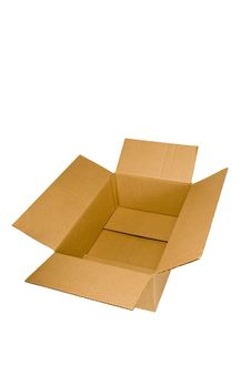 Free Empty Cardboard Box Stock Photo - 18957200