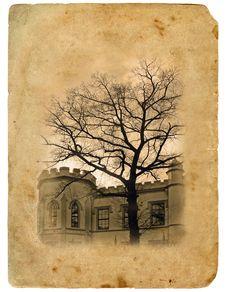 Free Old Postcard. Royalty Free Stock Image - 18958706