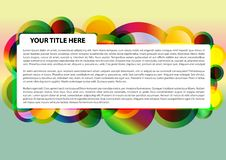 Free Colorful Circle Background Royalty Free Stock Image - 18959206