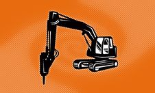 Free Digger Mechanical Excavator Royalty Free Stock Images - 18959679