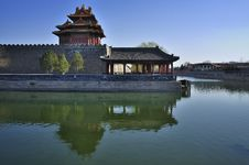 Free China Beijing Forbidden City Gate Tower Royalty Free Stock Photography - 18959877