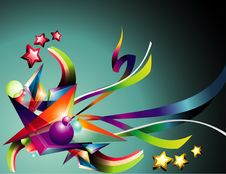 Abstract Background Illustration Stock Image