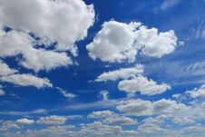 Free Clouds In The Blue Sky Stock Photo - 189515190