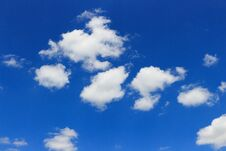 Free Clouds In The Blue Sky Royalty Free Stock Image - 189515206