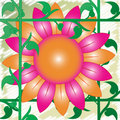 Free Retro 70 S Flower Stock Photo - 18966050