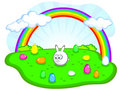 Free Cute Easter Bunny Stock Images - 18966834