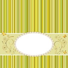 Free Golden Vintage Frame. Stock Photo - 18960230