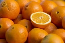 Free Oranges Royalty Free Stock Photo - 18960495