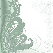 Free Green Asymmetric Background Royalty Free Stock Photo - 18960845