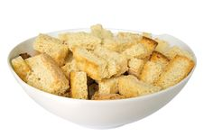 Free Croutons In A Dish Royalty Free Stock Photos - 18960958