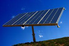 The Solar Battery Royalty Free Stock Photo