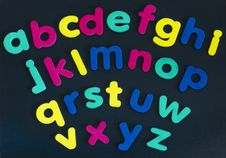 Free Alphabet Royalty Free Stock Image - 18961316
