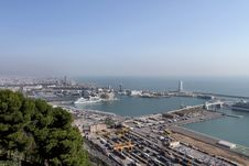 Free Barcelona Harbor Stock Images - 18961744