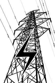 Free Power Lines Stock Photo - 18961750