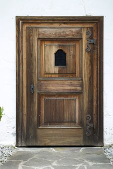 Old Door Backround Stock Photos
