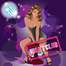 Night Club Royalty Free Stock Photos