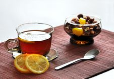 Free Tea With Lemon Stock Photography - 18963082