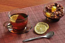 Free Tea With Lemon Royalty Free Stock Photo - 18963105