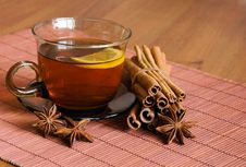 Free Tea With Lemon Royalty Free Stock Photo - 18963135