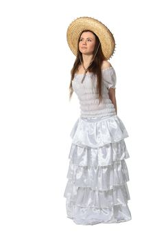 Mexican Girl Royalty Free Stock Photo