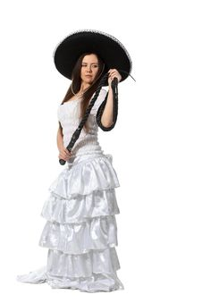 Mexican Girl Royalty Free Stock Images