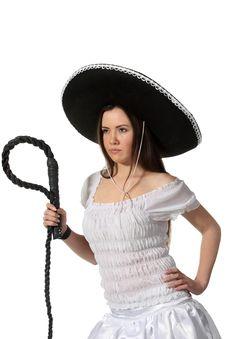 Free Mexican Girl Royalty Free Stock Photos - 18963378