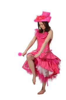 Pink Fairy Breaks Her Wand Stock Photography