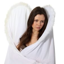Free Sad Angel Stock Image - 18963391