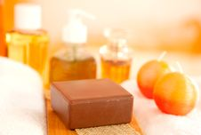 Free Handmade Soap Stock Photography - 18963442
