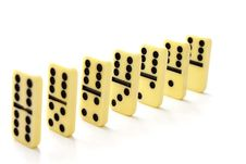 Free Dominoes Counters Royalty Free Stock Photography - 18963707