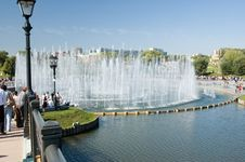 Free Music Fountain In Tsaritsino Stock Photography - 18964252