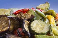 Free Mixed Grilled Vegetables Stock Images - 18964664