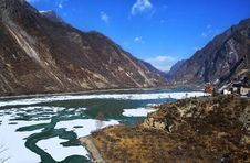 Free Lakes And Mountains, Sichuan, China Royalty Free Stock Image - 18965576