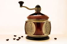 Free Manual Coffee Grinder Stock Images - 18965704