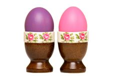 Free Pink And Purple Easter Egg Royalty Free Stock Photo - 18965985