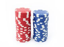 Free Casino Chips Stock Image - 18966181