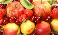 Ripe Fruit And Berries Royalty Free Stock Photo