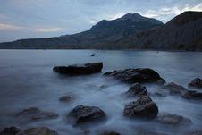 Free Evening Over Black Sea Royalty Free Stock Photos - 18967028